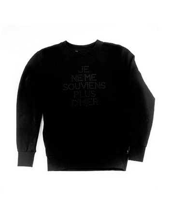 Qhuit Limited Edition Sweat BLK