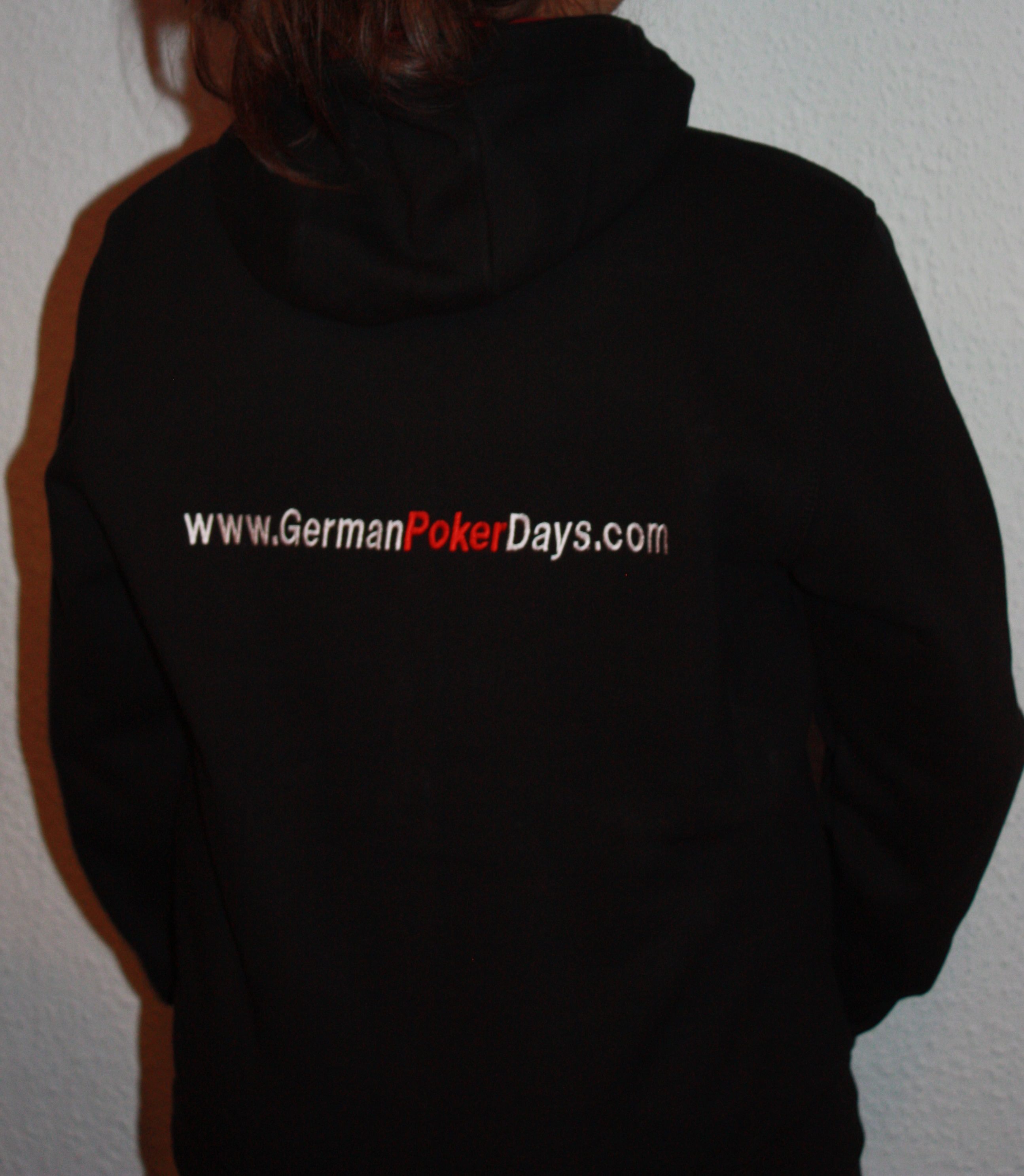 German Poker Days Zip Hoodie