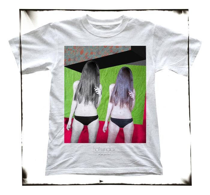 HOTSUNDAY #017, Classic T-Shirt 1950er Style