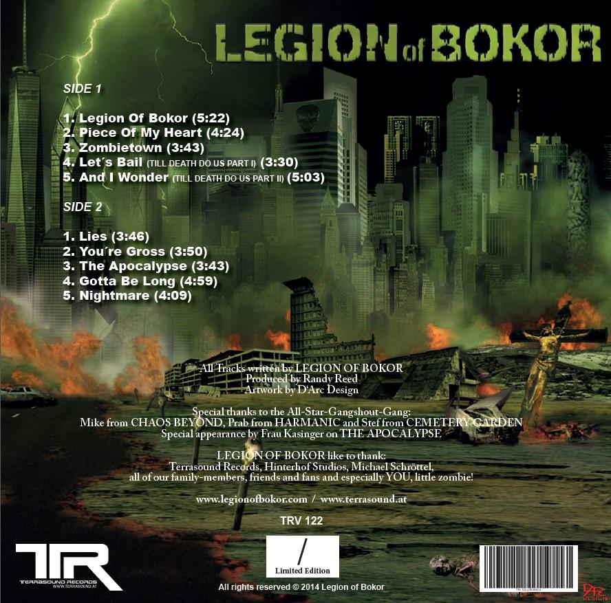 LEGION OF BOKOR (2014) - VINYL LP (limited edition)
