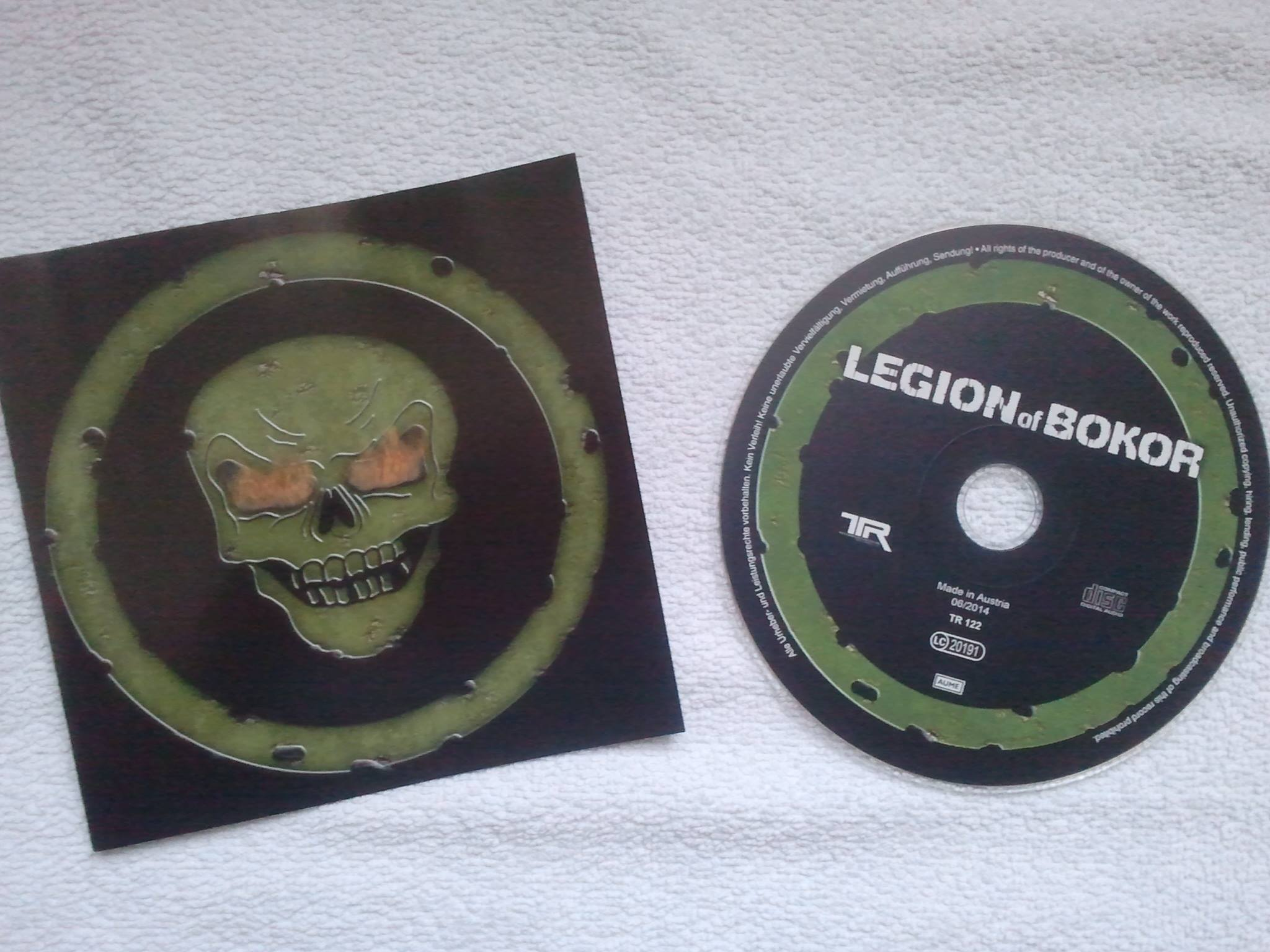 LEGION OF BOKOR (2014) - CD