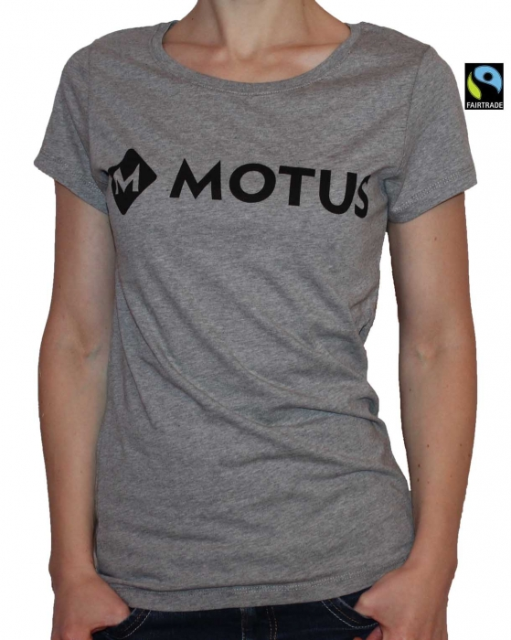MOTUS Shirt Ladies mid grey