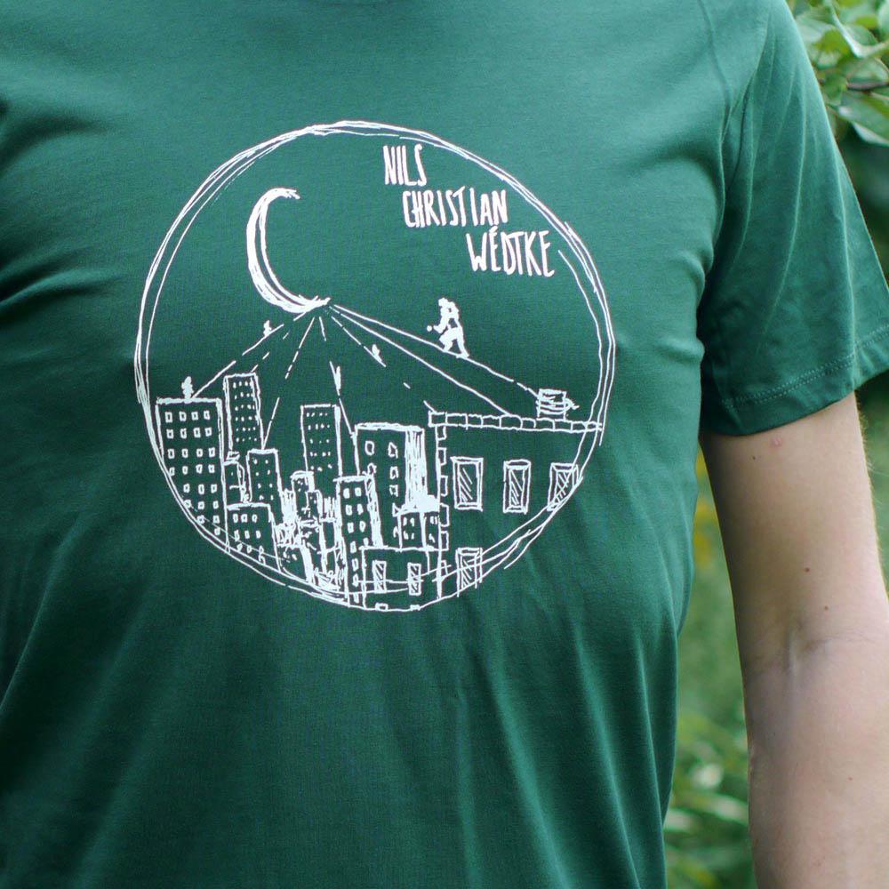 T-Shirt gerade (grün)