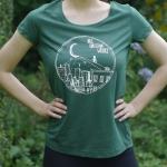T-Shirt tailliert (grün)