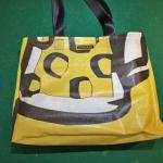 die Einkaufstasche aus Netz