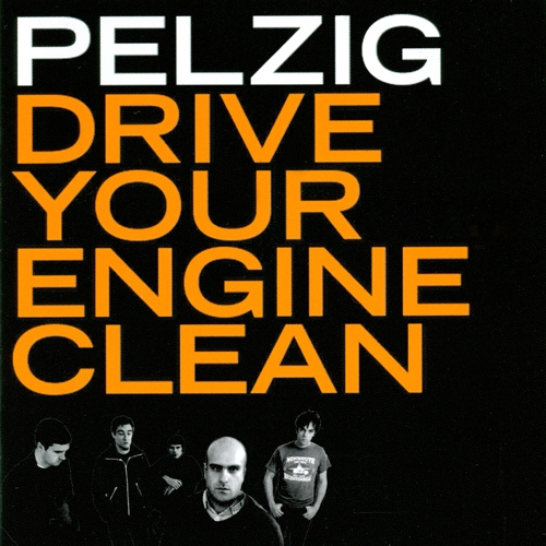 PELZIG - Drive Your Engine Clean - LP (Rarität)