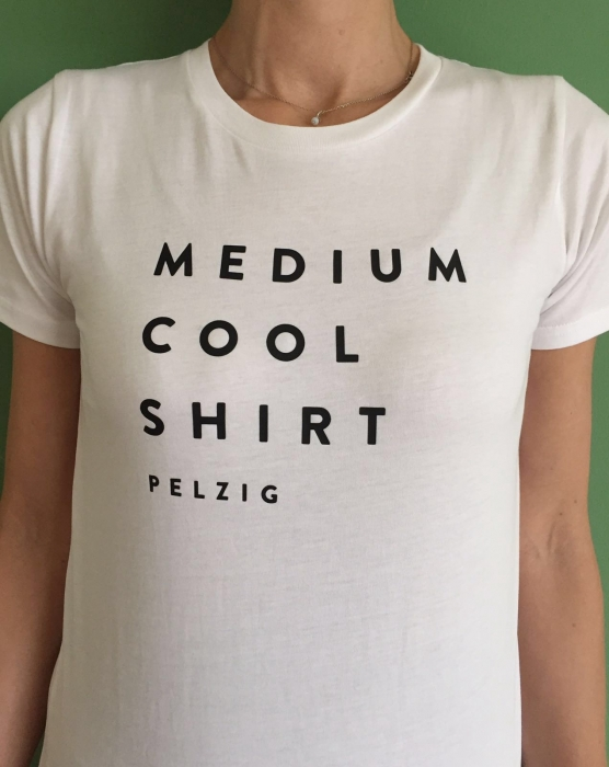 PELZIG - MEDIUM COOL SHIRT - Girls White