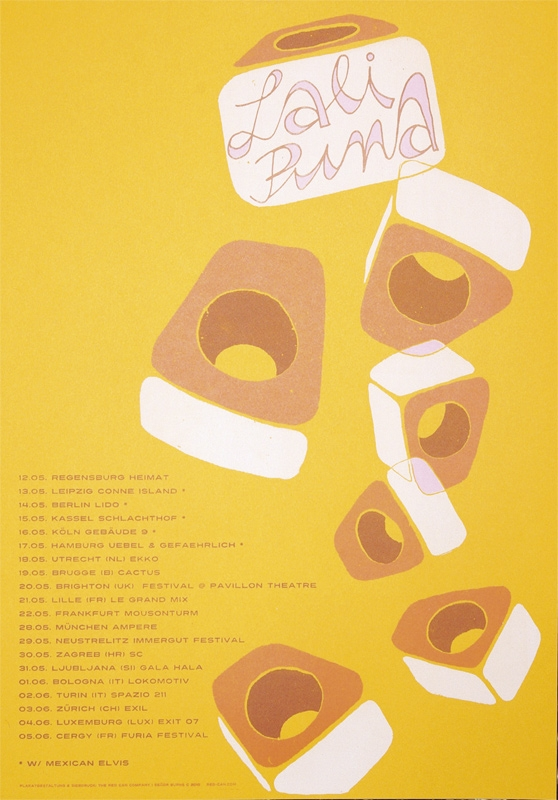 LALI PUNA tour2010 ... plakat