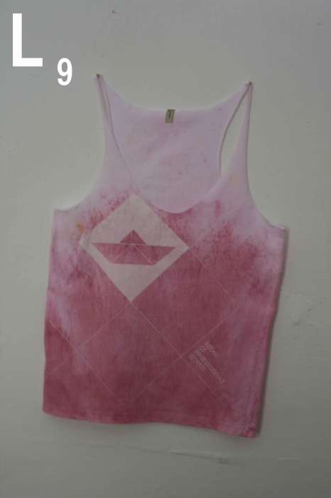 recut and redyed soccer shirt. L9