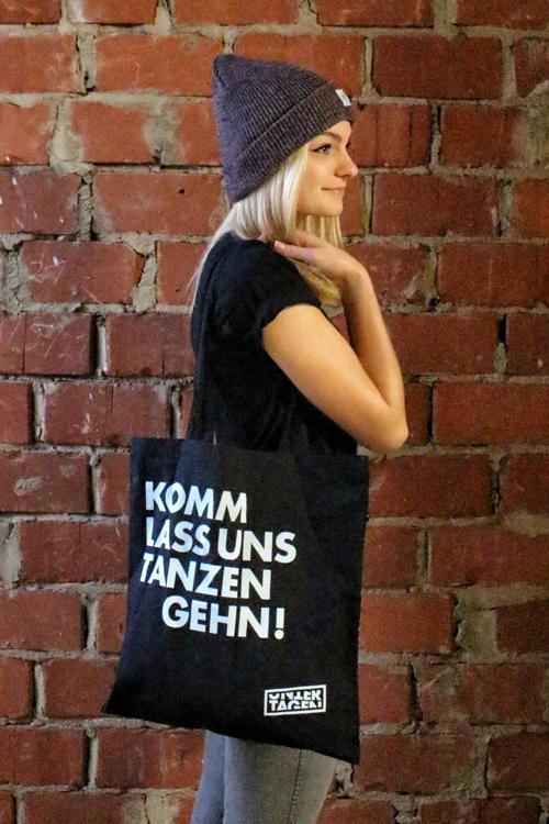 Beutel - TANZEN - Schwarz