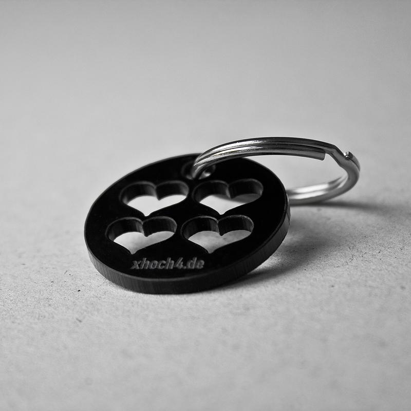 xhoch4 Schlüsselanhänger